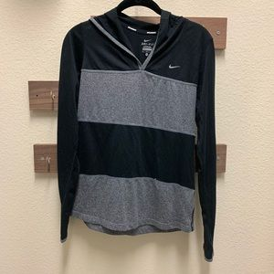 Nike Dri-FIT long sleeve with hood